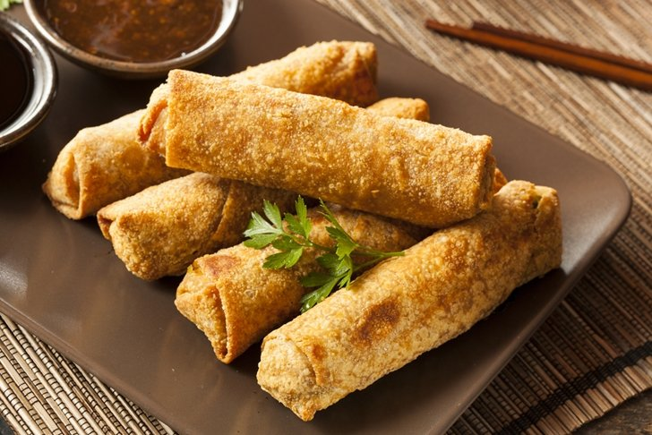 How to make Chinese egg rolls at home