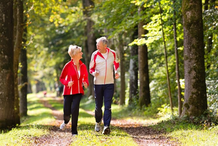 Heading outdoors is one of the best, most rewarding ways for seniors to get some physical exercise.