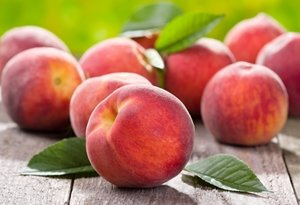 Is there anything more summery than a plump, ripe peach?