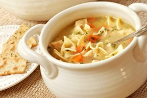 Easy Chicken Soup To Soothe A Cold