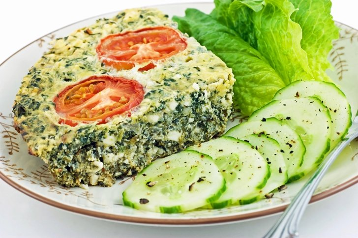 how to make a healthy breakfast quiche