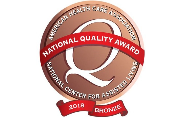 34 Sunrise Communities Earn 2018 Bronze Quality Award from AHCA/NCAL