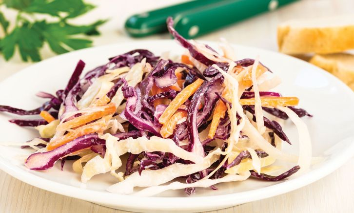 A Sunrise Recipe: Asian Vegetable Slaw
