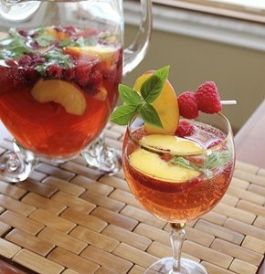 A cool glass of sangria is a great way to celebrate National Wine Day