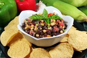Black and Yellow Salad can also make a great dip for tortilla chips.