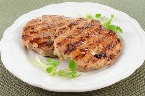 Turkey burgers are a healthy way to celebrate National Burger Month.