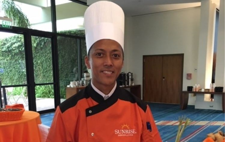 Erwin Lazaro Wins Sunrise's Sixth Annual Senior Eats Nutritional Challenge