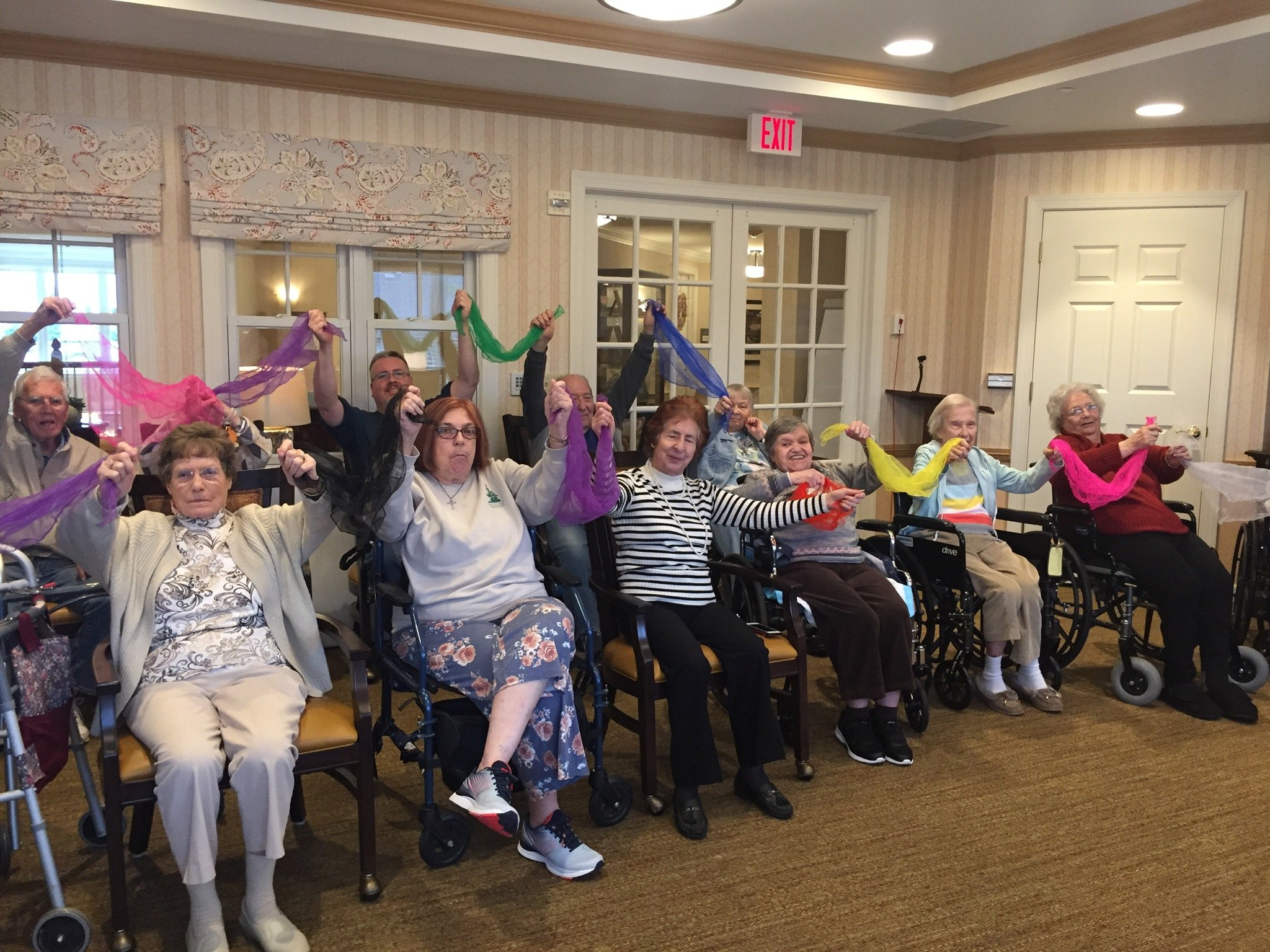 Sunrise Senior Living and SingFit™ Strike a Chord with Therapeutic Music