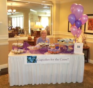 Sunrise Impresses with Fundraising Efforts for the Alzheimer's Association