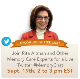 Rita Altman to Host First #MemoryChat on Twitter This Friday!
