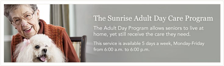 Adult Day Care at Sunrise of Dublin, OH