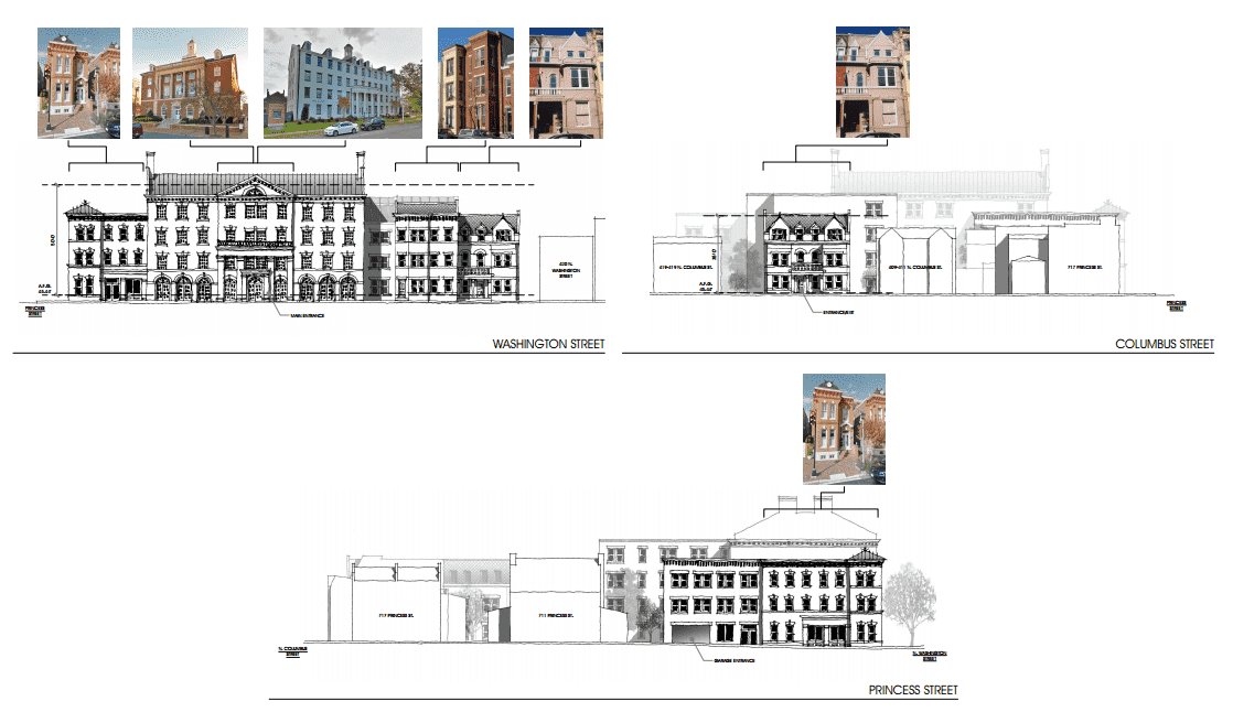 Alexandria Development - Proposed Elevations