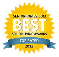 Senior Homes Top Rated 2013