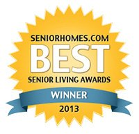 Senior Homes Winner 2013