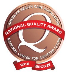 Bronze Quality Award 2016