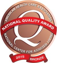 2015 AHCA/NCAL National Quality Award