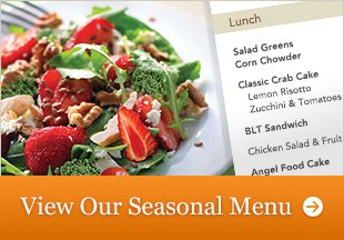 View Our Seasonal Menu