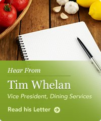Hear From Tim Whelan