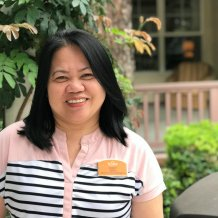Tisset Domingo, Assisted Living Coordinator