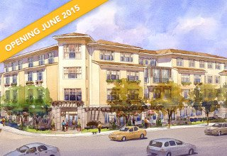Sunrise of Burlingame, CA, senior living community