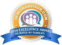 Senior Advisor 2014 Excellence Award