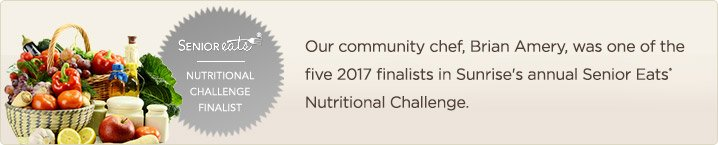 2017 Nutritional Challenge Finalist, Brian Amery
