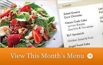 This Month's Menu