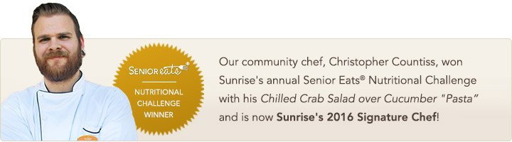 Sunrise of Severna Park, MD, Chef Christoper Countiss