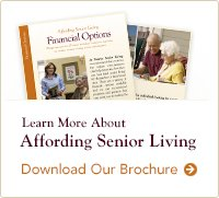 Learn more about affording senior living