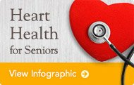 View the Heart Health for Seniors Infographic