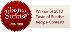 Taste of Sunrise Winner