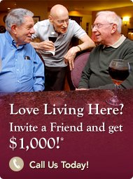 Enjoy a $2,000 Referral Bonus When a Friend Moves Into Sunrise!