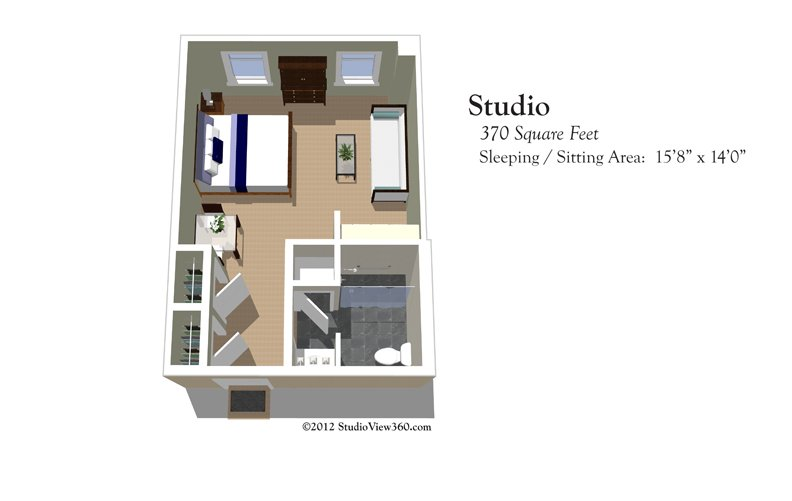 Two bedroom apartment floor plans