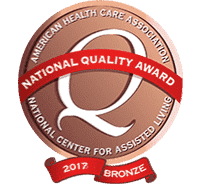 Sunrise receives 2017 national quality award