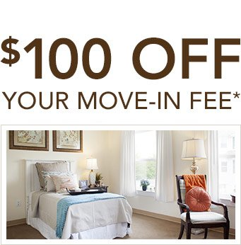$100 off your Move-in Fee